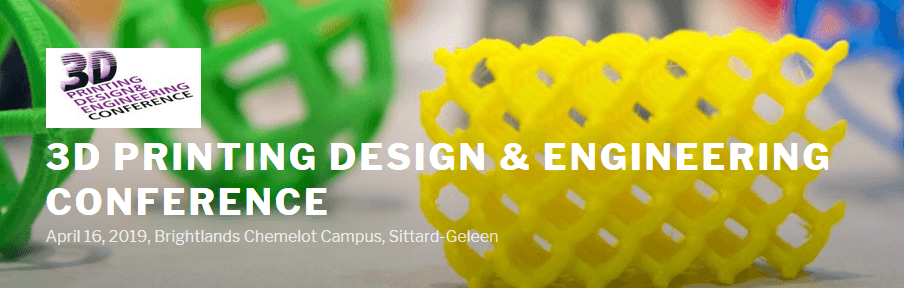 American Elements Sponsors 3D Printing Design & Engineering Conference 2019 Logo