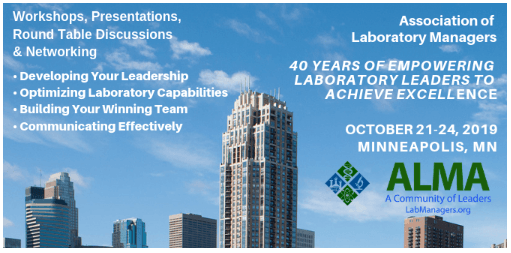 ALMA 2019 - Association of Laboratory Managers