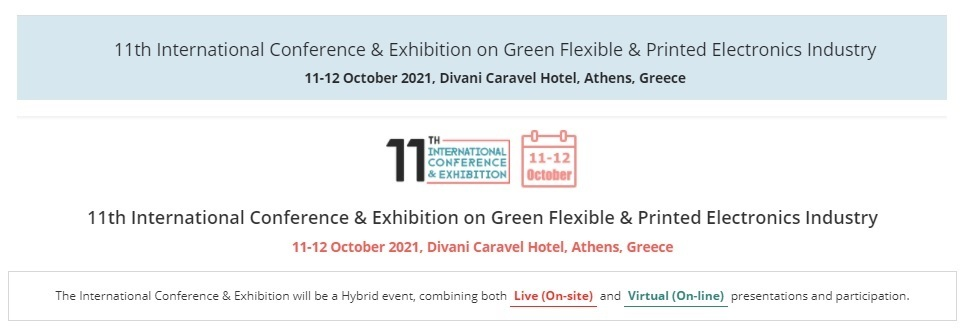 11th International Conference & Exhibition on Green Flexible & Printed Electronics Industry 2021