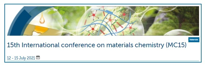 15th International Virtual conference on materials chemistry 2021 - MC15