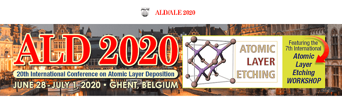 20th International Conference on Atomic Layer Deposition - ALD 2020