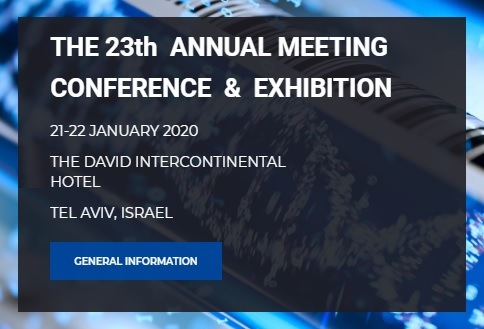 23th Annual Meeting - Conference and Exhibition - Isranalytica 2020