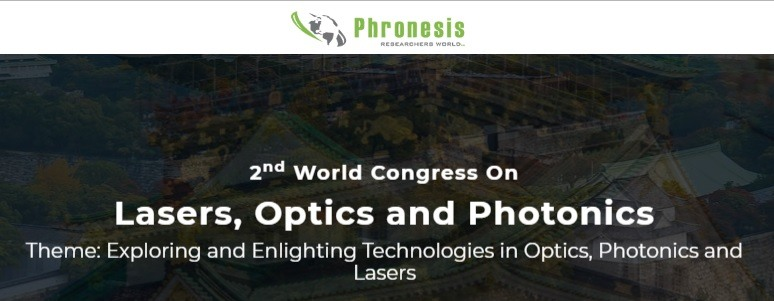 2nd World Congress On Lasers, Optics and Photonics - WCLOP 2020