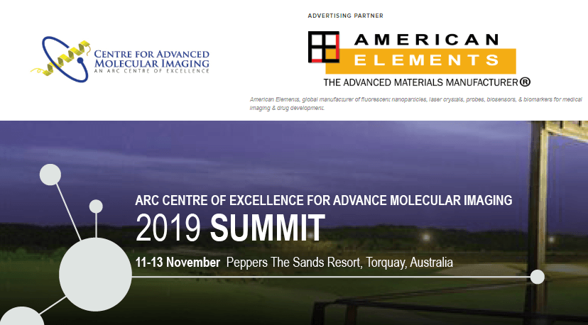 ARC Centre of Excellence in Advanced Molecular Imaging Summit 2019