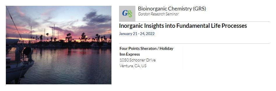 Bioinorganic Chemistry 2022, Inorganic Insights into Fundamental Life Processes