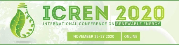 ICREN 2020 - 3rd International Conference on Renewable Energy - Virtual