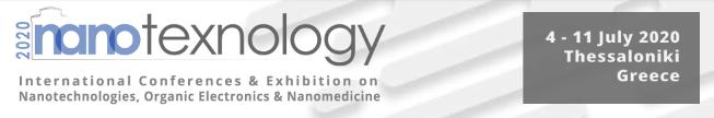 NANOTEXNOLOGY 2020 - 7th Exhibition on Nanotechnologies, Organic Electronics & Nanomedicine