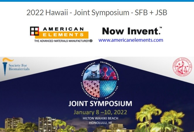 Society for Biomaterials Annual Meeting & Japanese Society for Biomaterials - SFB & JSB 2022