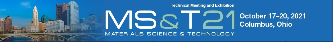 The Materials Science & Technology Technical Meeting And Exhibition MS&T21