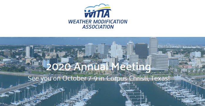 Weather Modification Association Annual Meeting - WMA 2020