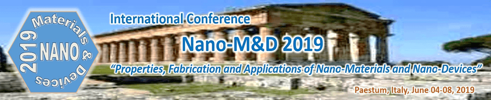 American-Elements-Sponsors-International-Conference-Nano-M&D-2019-Properties-Fabrication-and-Applications-of-Nano-Materials-and-Nano-Devices-Logo