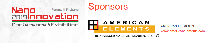 American-Elements-Sponsors-NanoInnovation-2019-Conference-and-Exhibition-Banner-Logo