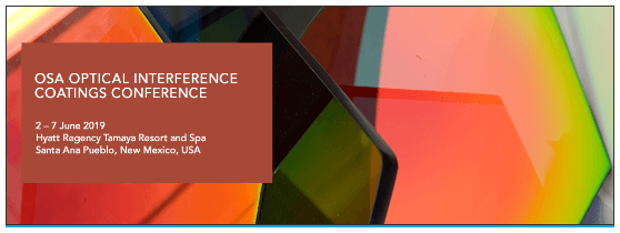 American-Elements-Sponsors-OSA-Optical-Interference-Coatings-Conference-OIC-2019-Logo-banner