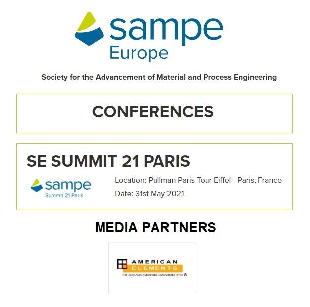 SAMPE Europe Conference SE Summit PARIS 2021 Virtual