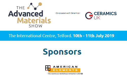American-Elements-Sponsors-The-Advanced-Materials-Show-2019-Co-located-with-Ceramics-UK-2019-Logo