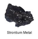 High Purity (99.999%) Strontium (Sr) Metal