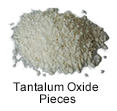 Ultra High Purity (99.999%) Tantalum Oxide Pieces