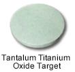 High Purity (99.999%) Tantalum Titanium Oxide Sputtering Target