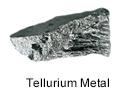High Purity (99.99999%) Tellurium (Te) Metal