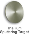 High Purity (99.999%) Thallium (Tl) Sputtering Target