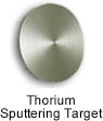 High Purity (99.999%) Thorium (Th) Sputtering Target