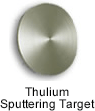 High Purity (99.999%) Thulium (Tm) Sputtering Target