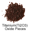 Ultra High Purity(99.999%) Titanium (Ti2O3) Oxide Pieces
