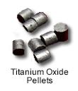 Ultra High Purity (99.999%) Titanium Oxide Pellets
