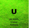 99.999% Uranyl Acetate Fine Powder