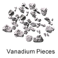 Ultra High Purity (99.999%) Vanadium Pieces