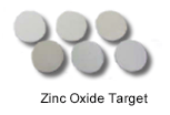 High Purity (99.999%) Zinc Oxide Sputtering Target
